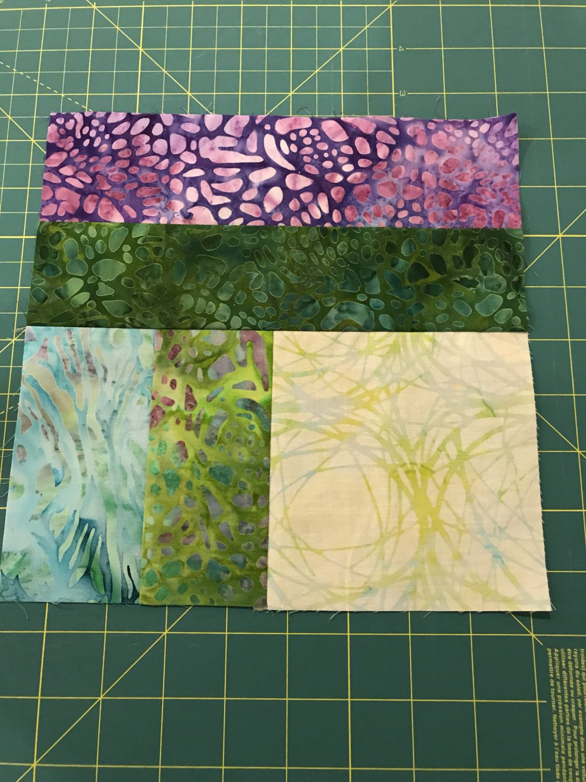 Quilt Diary: Two Step Quilt