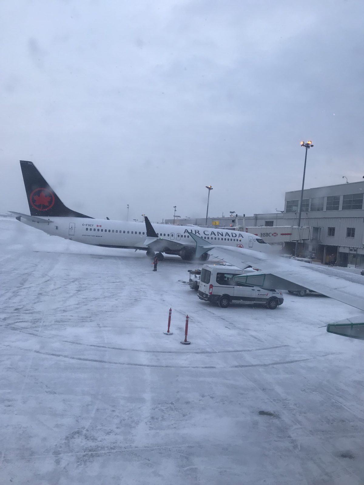 Travel Diary:  Air Canada