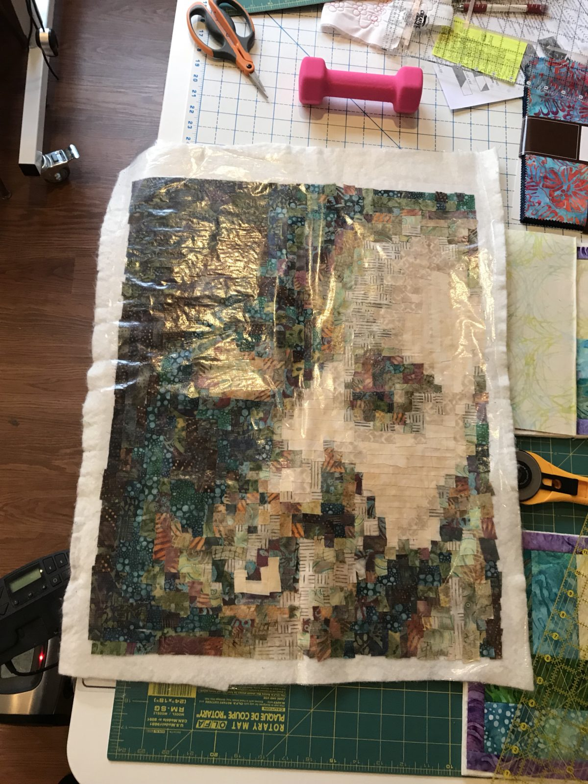 Quilt Diary:  March One Monthly Goal