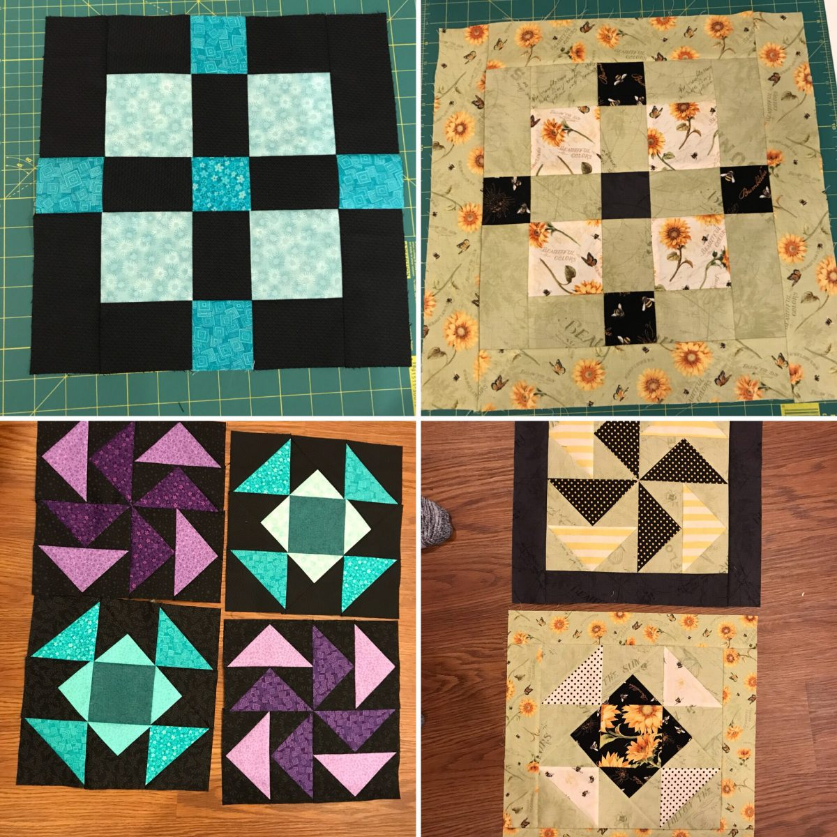Quilt Diary: March 12 Update on quarter goals