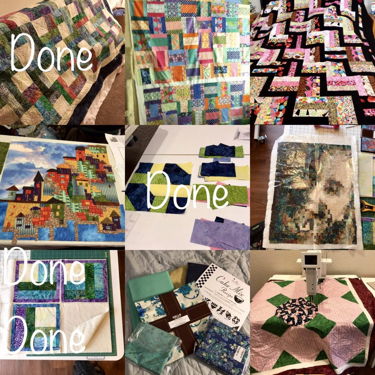Quilt Diary: 2018 FAL First Quarter Ended