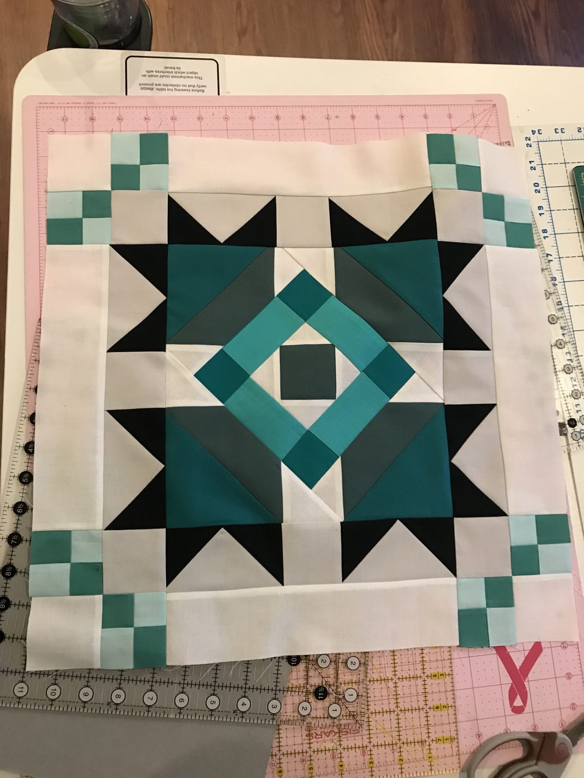 Quilt Diary:  May Progress