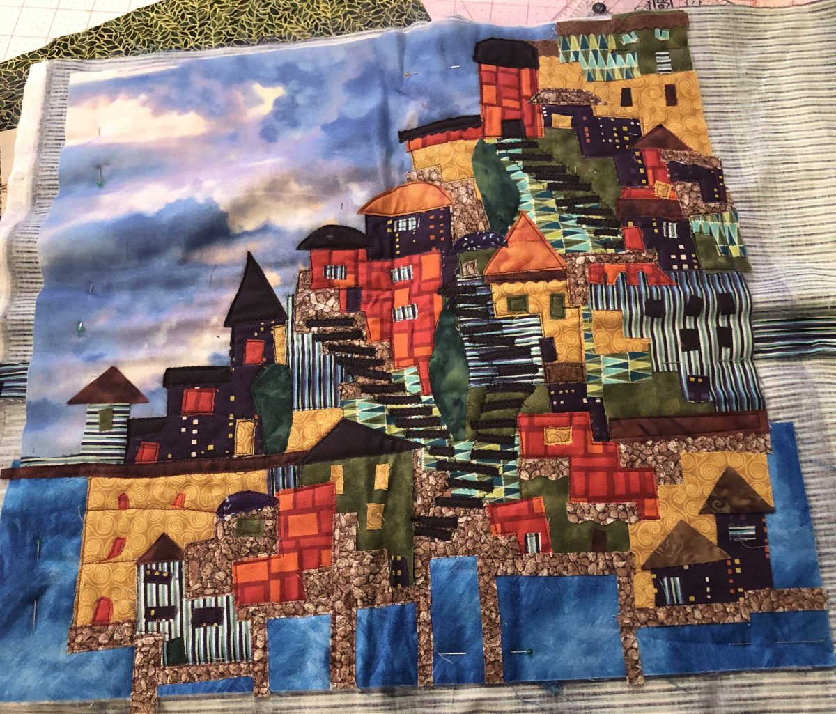 Quilt Diary:  February Goals