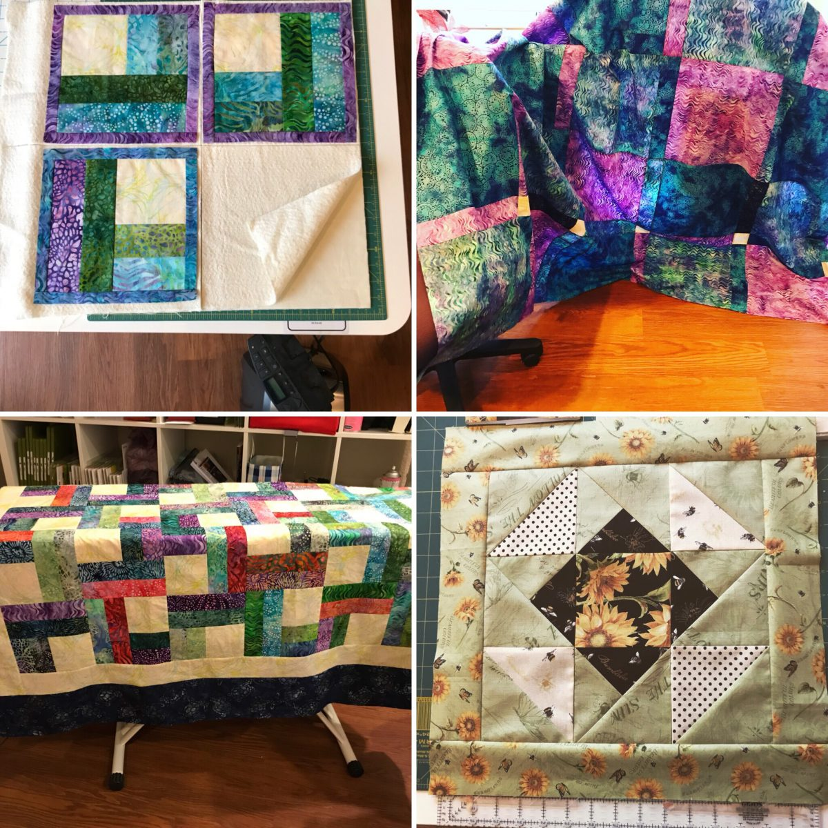 Quilt Diary:  Catching Up