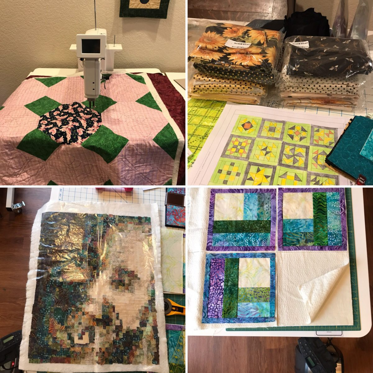 Quilt Diary: March & Quarter 1 Goals