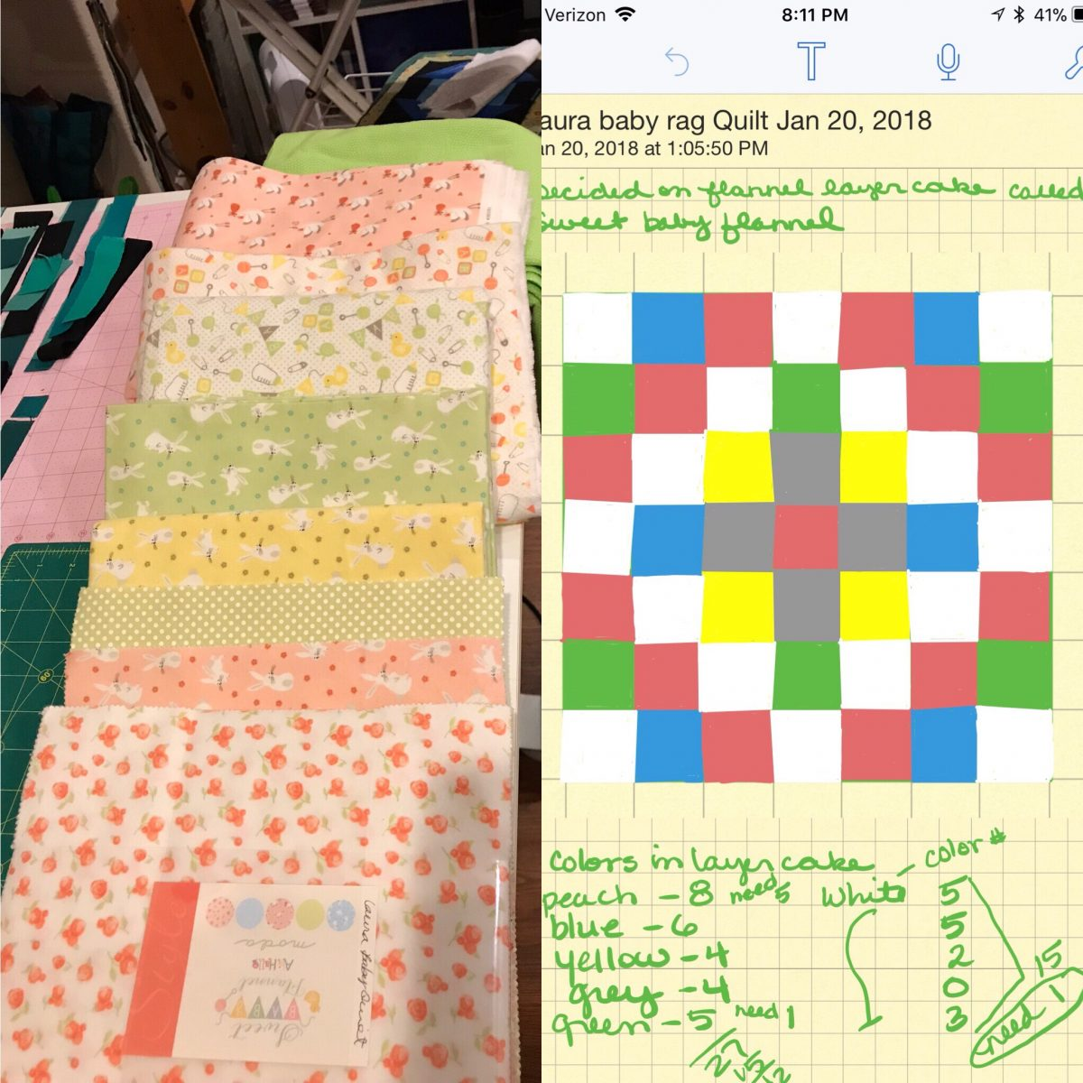 Quilt Diary: April OMG