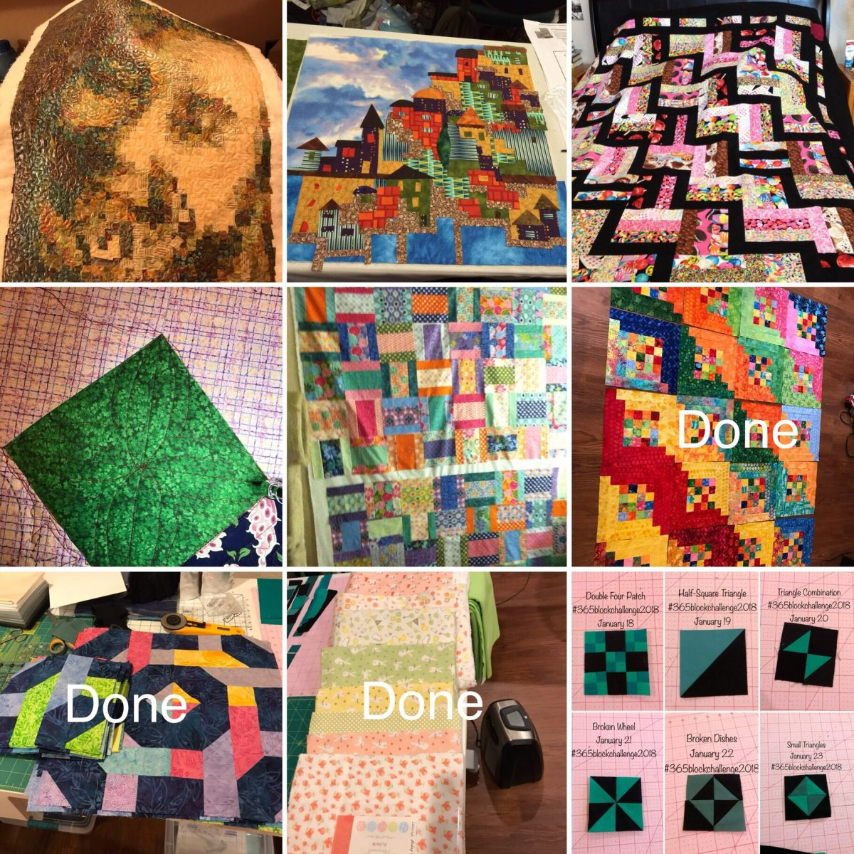 Quilt Diary: #2018FAL Qtr 2 Finish