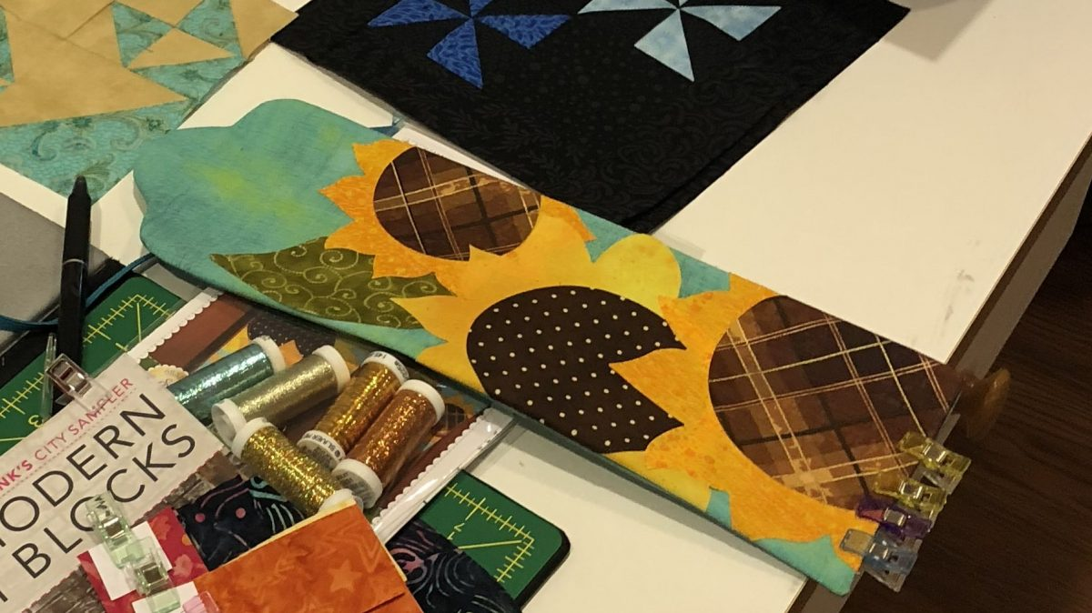 Quilt Diary: Aug One Monthly Goal