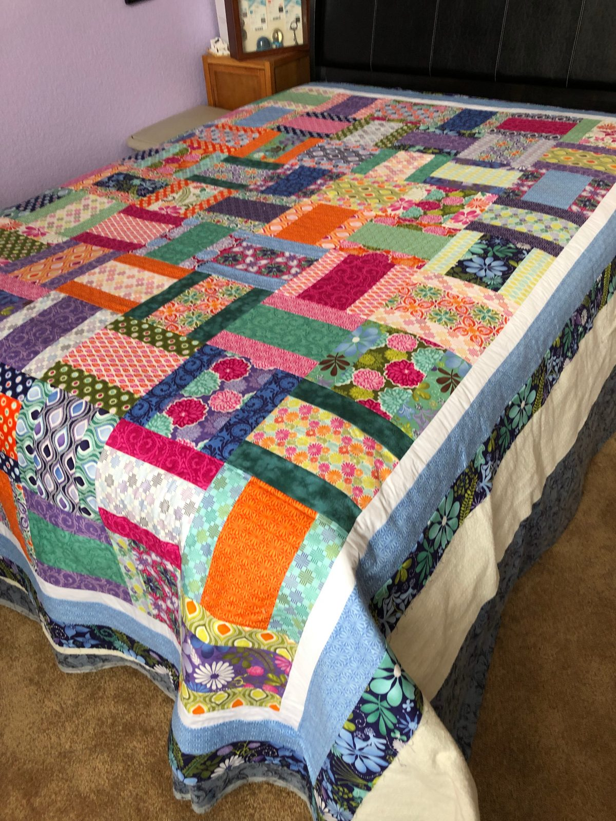 Quilt Diary: NYE Quilt – March OMG